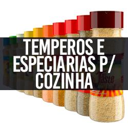 Temperos e Especiarias p/ Cozinha