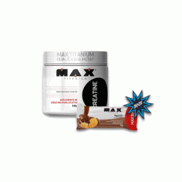 Creatine Monohidrata (100g) + Max Bar (30g)
