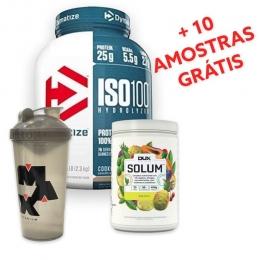 Dymatize + Dux Nutrition + Max Titanium