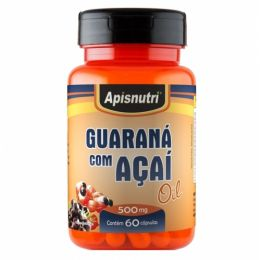 Guaraná com Açaí Oil 500mg (60caps)