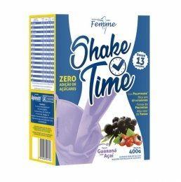 Shake Time (400g) acai e guarana